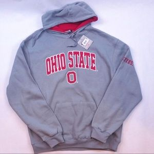 scarlet & grey Ohio state pullover hoodie size xl